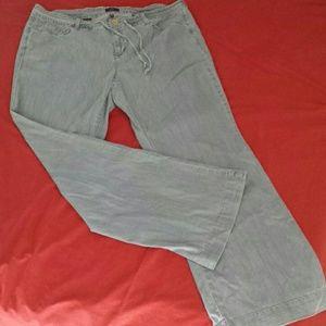 NYDJ lightweight wide leg jeans